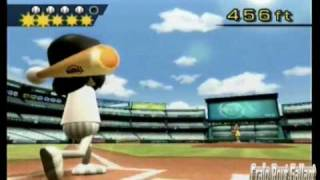 Former World Record: Wii Sports - Hitting Home Runs - 6041 feet