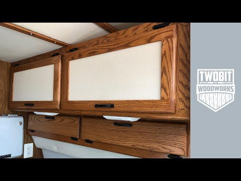How to Restore Cabinets in an Airstream B190 | DIY Woodworking Project