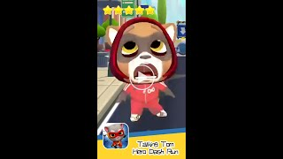 Talking Tom Hero Dash Run Day 133 Vertigo Walkthrough Endless runner Save the world Recommend index