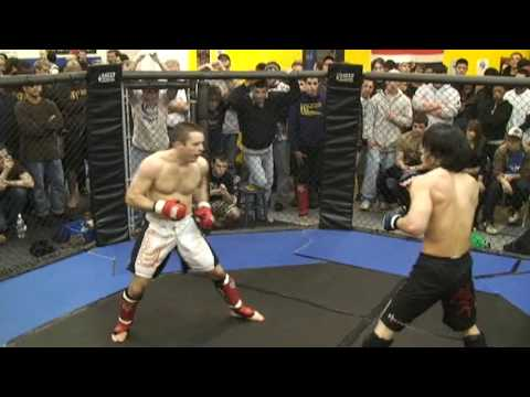 Andrew Park MMA fight