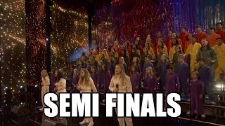 Voices of Hope Childrens America's Got Talent 2018 Semi Finals|GTF