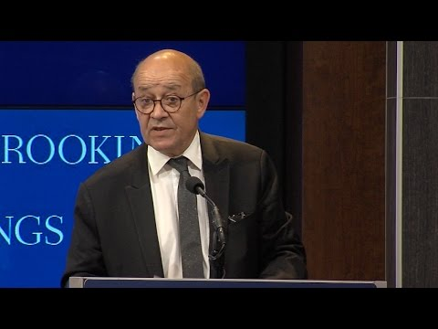 Reinvigorating the transatlantic partnership to tackle evolving threats: Jean-Yves Le Drian
