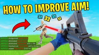 The Best NEW Ways To Improve Your Aim In Fortnite! (Helped me progress)