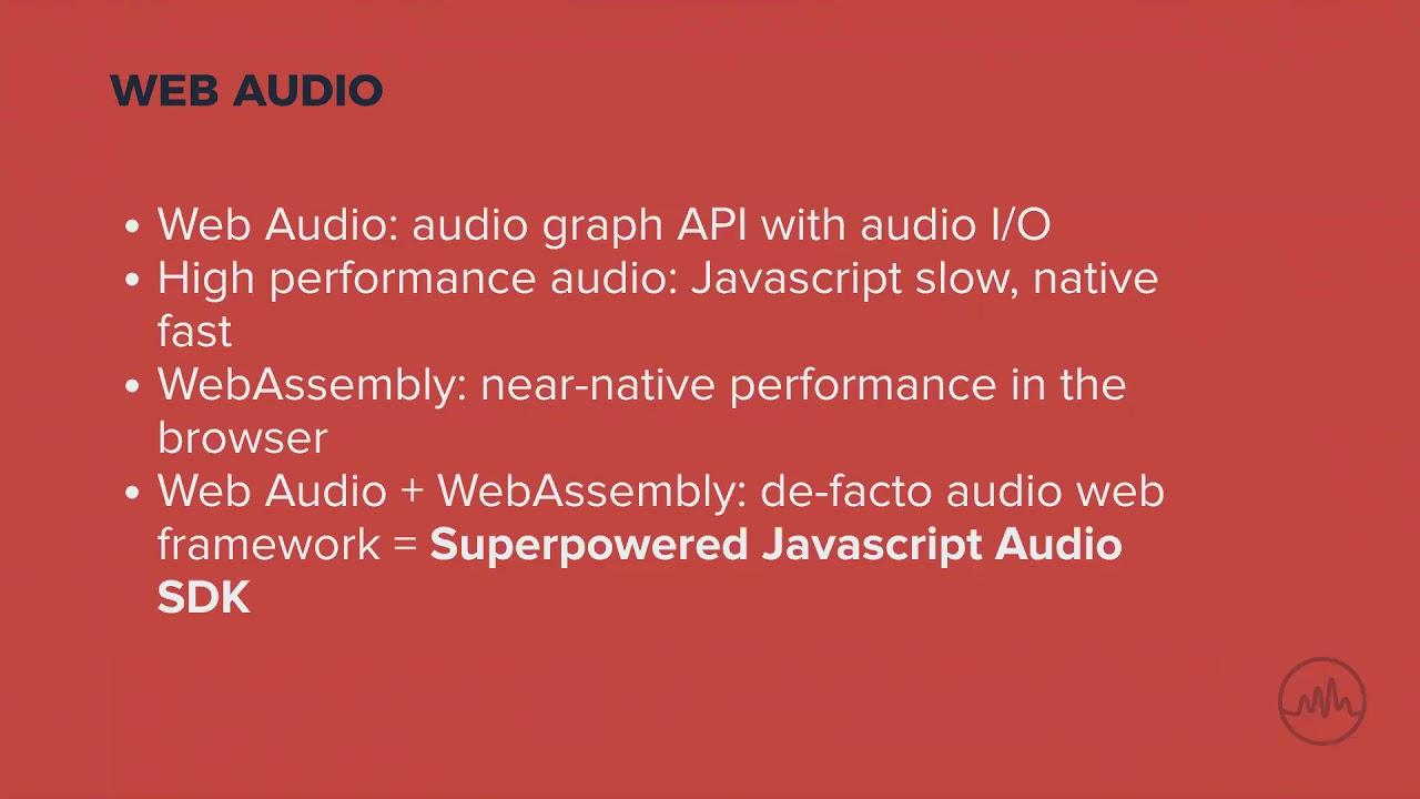 Superpowered Audio Javascript SDK