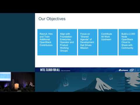 Intel- Cloud for All: OpenStack Innovation Center