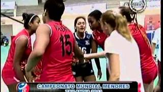 VOLEY PERU VS TURQUIA [1-3] - Tailandia 2013 (1er. Set) 28-07-2013
