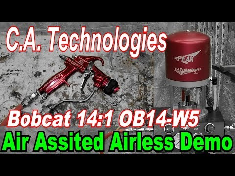 CA Technologies Air Assisted Airless Demo
