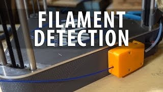 Filament Detection Sensors on 3D Printers are Cool as Shown on Dagoma Neva delta 3D Printer