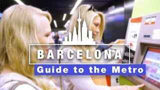 How to use barcelona metro & getting around the city