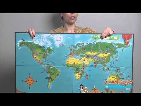 Tag Interactive World Map from LeapFrog YouTube