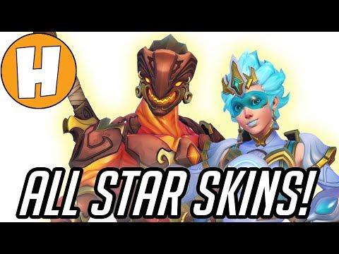 Overwatch All Star Skins - NEW Tracer + Genji Legendaries! | Hammeh