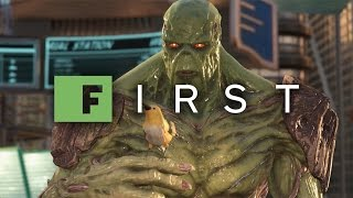12 Minutes of Injustice 2 Swamp Thing Gameplay (1080p 60fps) - IGN First