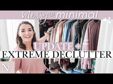 MESSY TO MINIMAL Clothing Cleanout 2020 | Minimalism Update + EXTREME DECLUTTER #WITHME #Stayhome from YouTube · Duration:  19 minutes 47 seconds