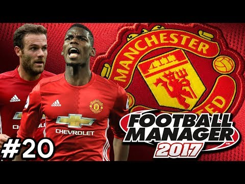 Football Manager 2017 | Manchester United Career Mode | #20 | CHAMPIONS LEAGUE GROUP DRAW