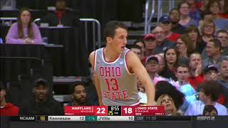(NCAAM) Maryland at Ohio State in 40 Minutes (1/11/18)