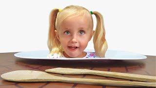 Алиса и Ева учит ошибки и правила поведения для детей
