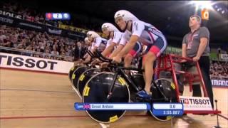 Cyclisme sur piste France Ô 02-03-2016.