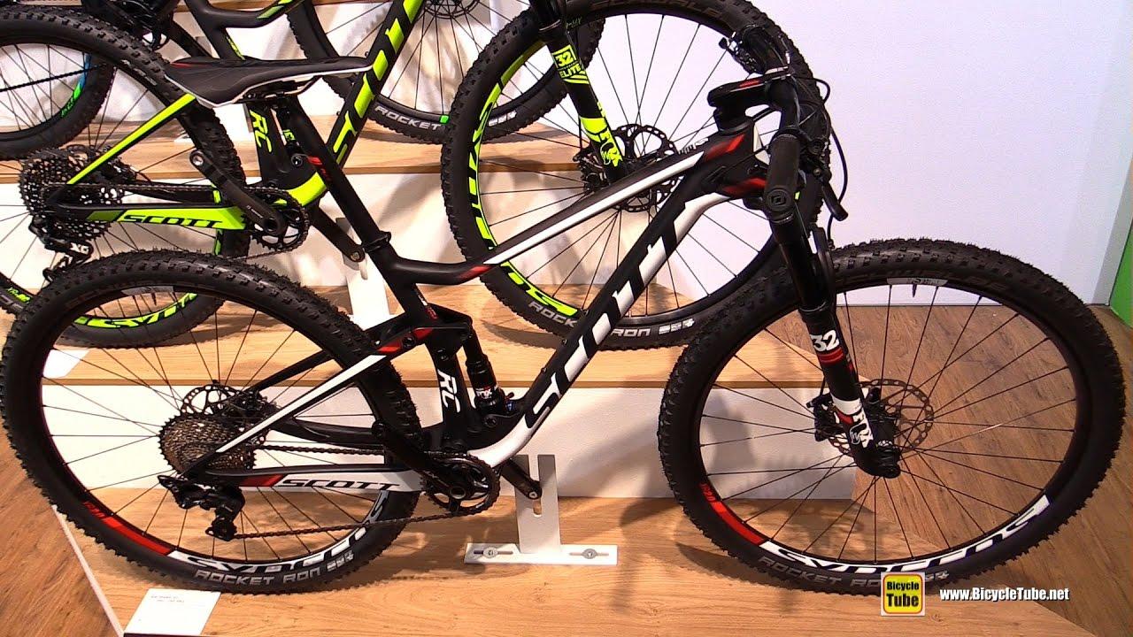 2017 Scott Spark Rc 900 Pro Mountain Bike Walkaround