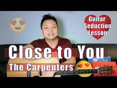 Close to You - The Carpenters Guitar Tutorial EASY