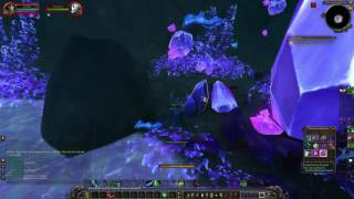How To Get Cracked Ley Crystals Quest Item World Of Warcraft Legion Beta Youtube