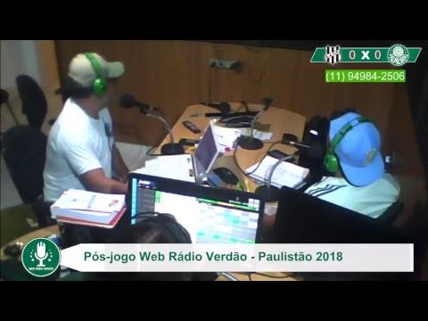 Pós-jogo - AO VIVO - Ponte Preta 0 x 0 Palmeiras