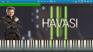 HAVASI plays Liszt — Dreams of Love (Liebestraum No. 3) [Synthesia Animation]