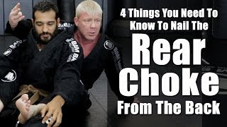 4 Things You Need To Know To Nail The Rear Choke In Jiu Jitsu