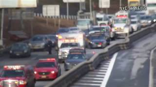 Police car accident on highway | NYC911NEWS