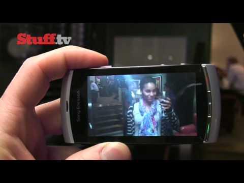 Sony Ericsson Vivaz Pro hands-on video