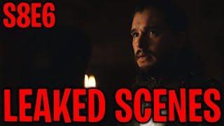 S8E6 Jon Snow's Fate & Leaked Scenes !   Game of Thrones Season 8 Episode 6