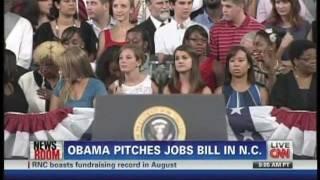 President Obama American Jobs Act North Carolina State University Raleigh (September 14, 2011)