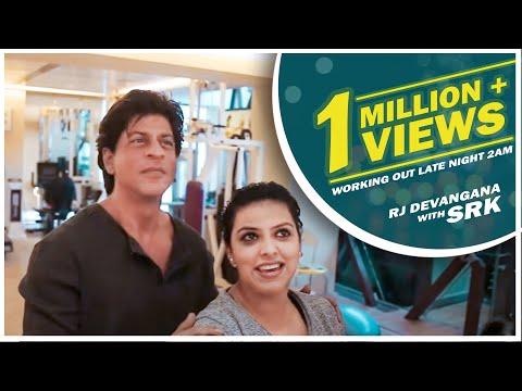 Shahrukh's Fitness Secret - SRK RJ...
