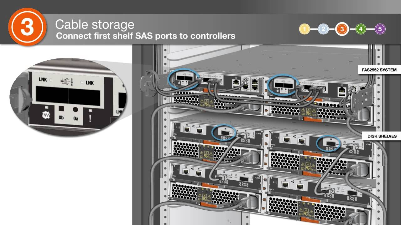 installing a fas2552 system with external storage netapp techcomm tv [ 1280 x 720 Pixel ]