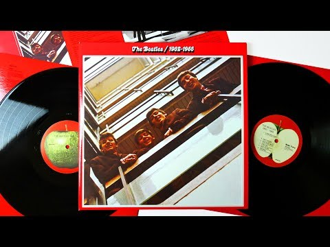 The Beatles ‎/ 1962-1966 (The Red Album) - The Beatles Vinyl Collection Unboxing