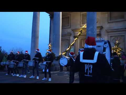 The Mansion Beckenham Place Park , drum procession - Festival of light , 2017