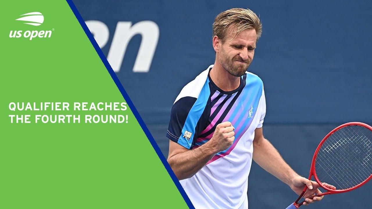 Qualifier Peter Gojowczyk Reaches The Fourth Round!   2021 US Open