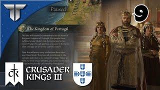 É oficial, formámos o Reino de Portugal | Crusader Kings 3 Portugal #9