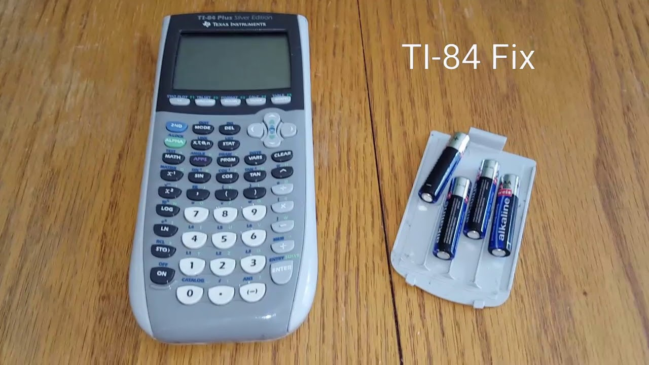 TI-84 will not power on fix