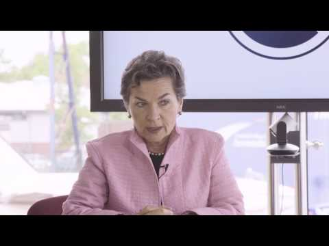 Christiana Figueres on governments achieving legally non-binding targets