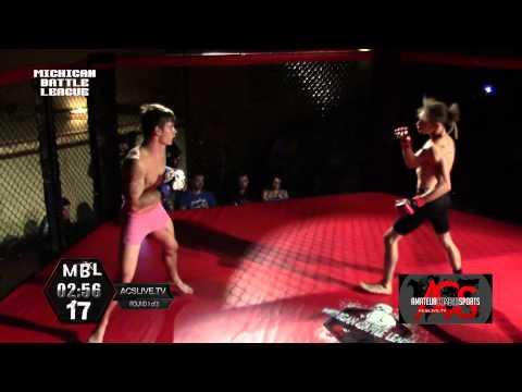"""""""Michigan"""" Battle League 17 MMA Jerron Beathea vs Nate Clark"""