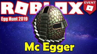 How to get the Mc Egger - Egg Hunt HUB - Roblox Egg Hunt 2019 GUIDE