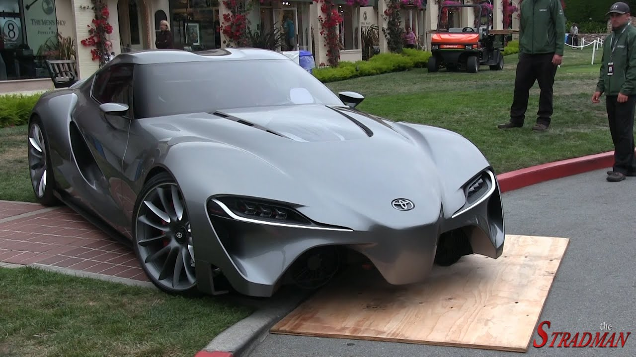 The Next Generation Supra? The Toyota FT-1 Concept - YouTube