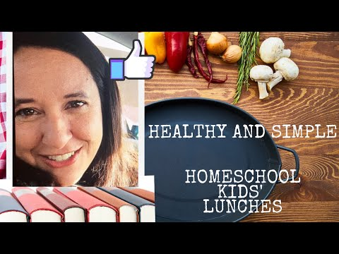 Homeschooling lunchtime ideas