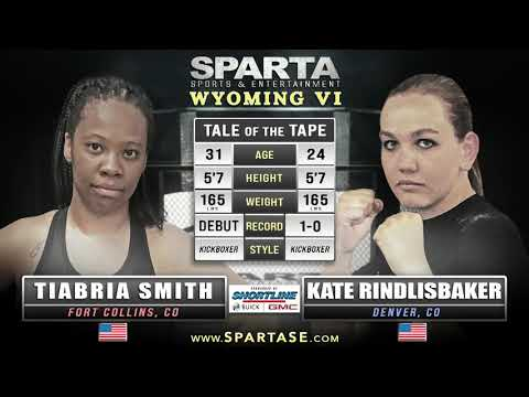 Sparta WY6 Tiabria Smith v Kate Rindlisbaker