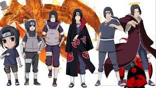 Naruto characters: Uchiha Itachi's Evolution