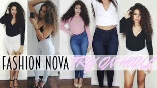 Fashion Nova Try On Haul | Spring 2016