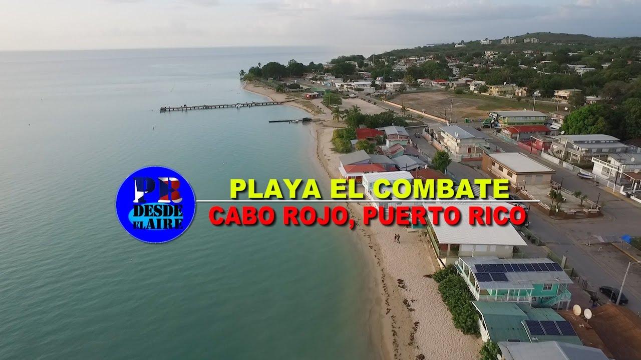 Playa el combate en cabo rojo youtube for Villas koralina combate cabo rojo