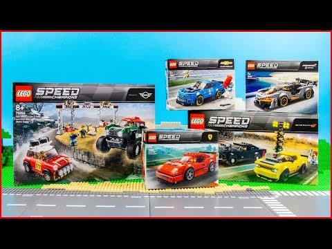 compilation lego speed champions all 2019 sets. Black Bedroom Furniture Sets. Home Design Ideas