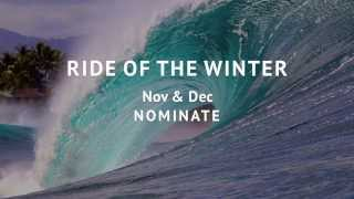 RIDE OF THE WINTER Nov & Dec  Nominate