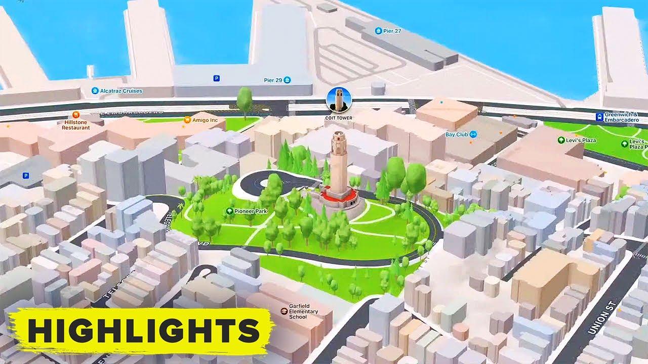 Actualización de Apple Maps